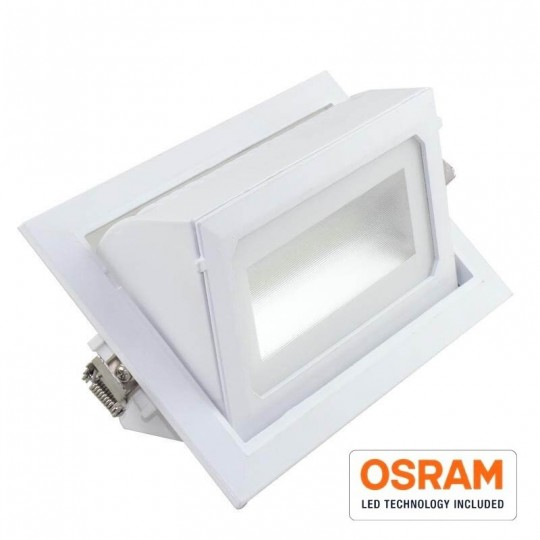 Foco proyector LED 36W orientable rectangular 120º EuroStarLed