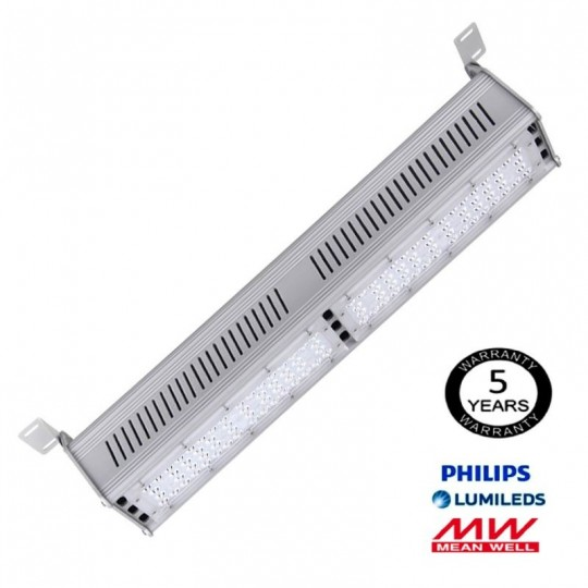 Campana Lineal LED 100W LUMILEDS 140Lm/W MEAN WELL EuroStarLed