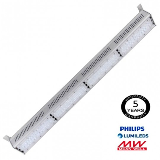 Campana Lineal LED 200W LUMILEDS 140Lm/W MEAN WELL EuroStarLed