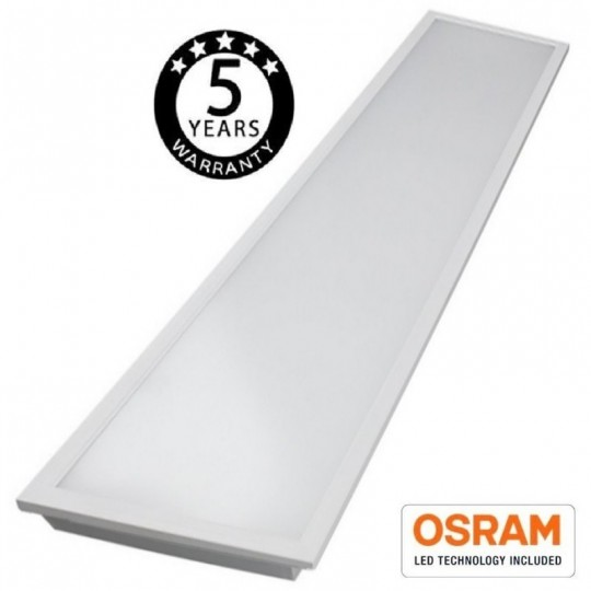 Panel LED 120x30 cm 50W OSRAM Chip - 140lm/W EuroStarLed