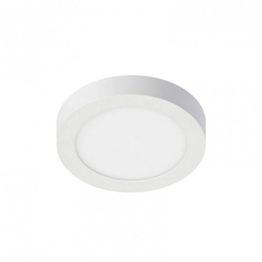 Plafón LED circular superficie 8W 120º- IP20-Interior EuroStarLed